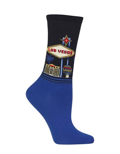 Hot Sox Las Vegas Trouser Socks-BLACK-One Size 88513238_BLACK_One Size