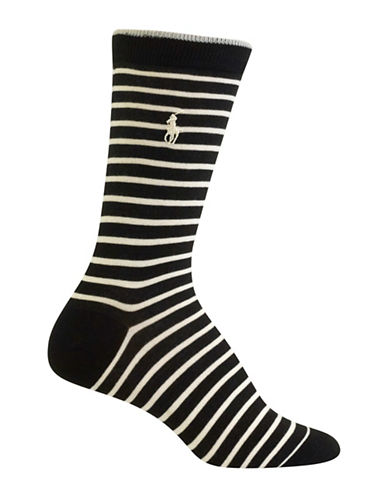 Polo Ralph Lauren Patterned Trouser Socks-BEIGE-One Size