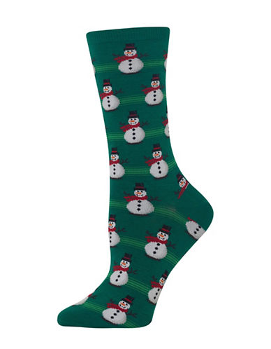 Hot Sox Christmas Snowman Socks-ASSORTED-One Size 89241424_ASSORTED_One Size