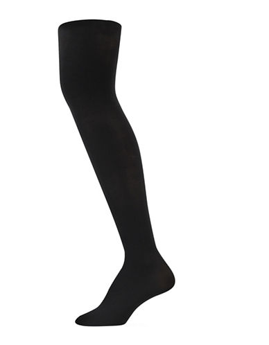 Polo Ralph Lauren Two-Pack Opaque Tights-BLACK-Medium