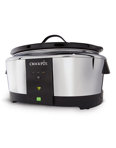 Crock Pot WeMo Enabled Smart Slow Cooker-STAINLESS STEEL-One Size