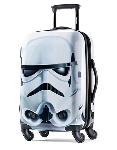 American Tourister Star Wars Storm Trooper 20-Inch Spinner Carry-On Expandable Suitcase-WHITE-20