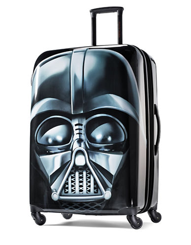 American Tourister Star Wars Darth Vader 28-Inch Spinner Expandable Suitcase-BLACK-28