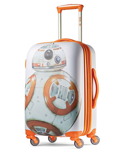 American Tourister Star Wars BB-8 20-Inch Spinner Carry-On Expandable Suitcase-ORANGE-20