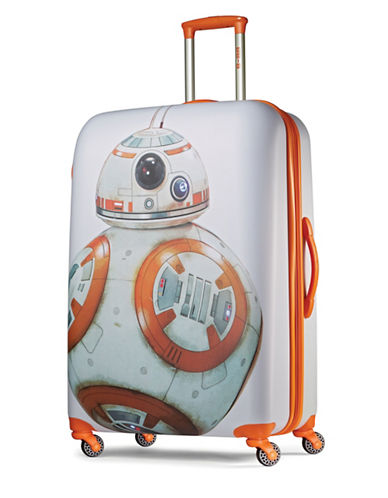 American Tourister Star Wars BB-8 Spinner 28-Inch Spinner Expandable Suitcase-ORANGE-28
