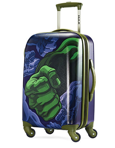 American Tourister Marvel Hulk Spinner Carry-On Suitcase-GREEN-22
