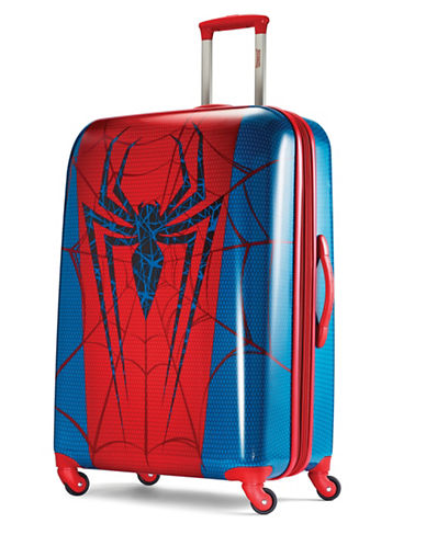American Tourister Marvel All Ages Spiderman Large Expandable Spinner-RED-30