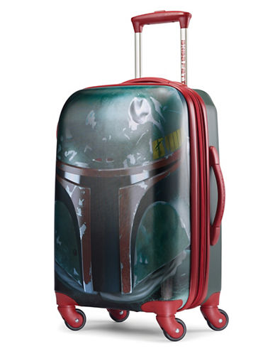 American Tourister Star Wars Boba Fett Expandable Spinner Suitcase-RED-21