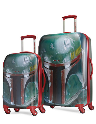 American Tourister Star Wars Boba Fett Two-Piece Suitcase Set-GREEN-28
