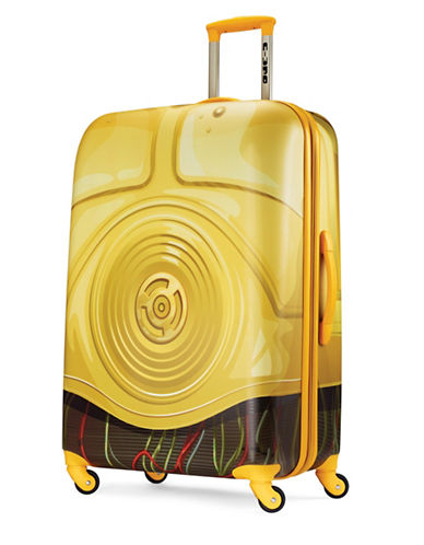 American Tourister Star Wars C3PO Spinner Suitcase-YELLOW-28