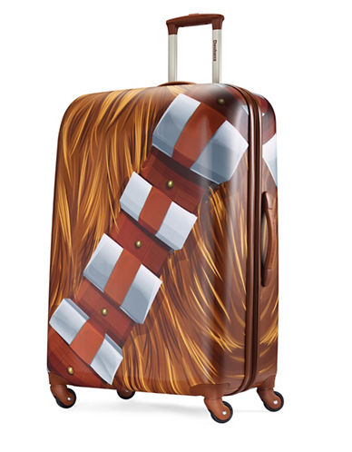 American Tourister Star Wars Chewbacca Spinner Suitcase-BROWN-28