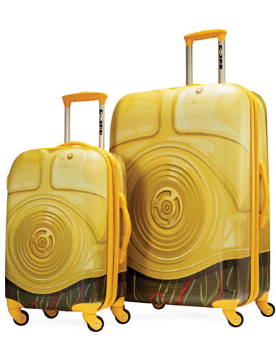 American Tourister Star Wars C3PO Two-Piece Suitcase Set-YELLOW-27