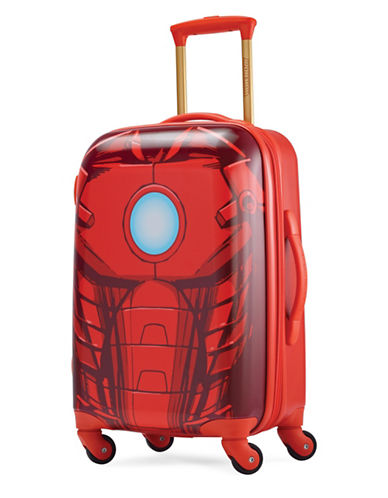 American Tourister Marvel Iron Man Spinner Carry-On Suitcase-RED-22