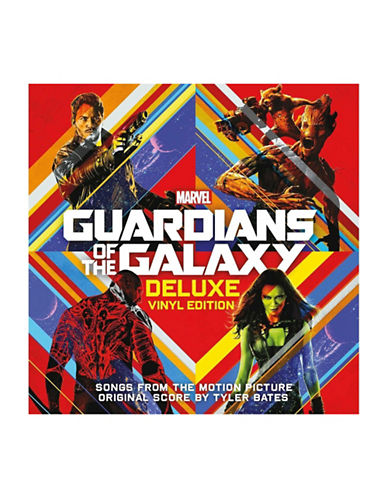 Vinyl Soundtrack - Guardians Of The Galaxy Deluxe Edition Vinyl-BLACK-One Size