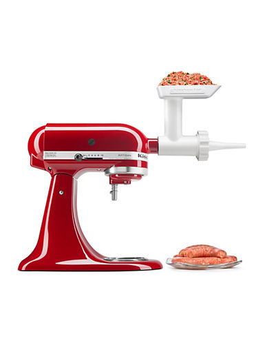 Kitchenaid Sausage Stuffer - Stand Mixer Attachment-WHITE-One Size