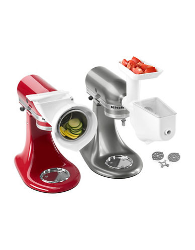 Kitchenaid Stand Mixer Attachment Pack-WHITE-One Size