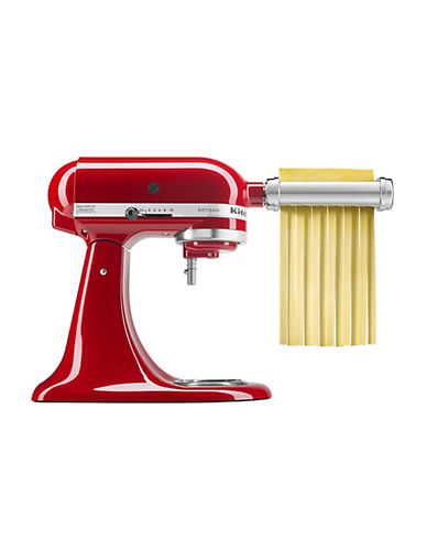 Kitchenaid Three-Piece Pasta Roller and Cutter Set - Stand Mixer Attachment-STAINLESS STEEL-One Size