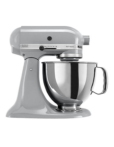 Kitchenaid Artisan Stand Mixer Metallic Chrome grey One Size