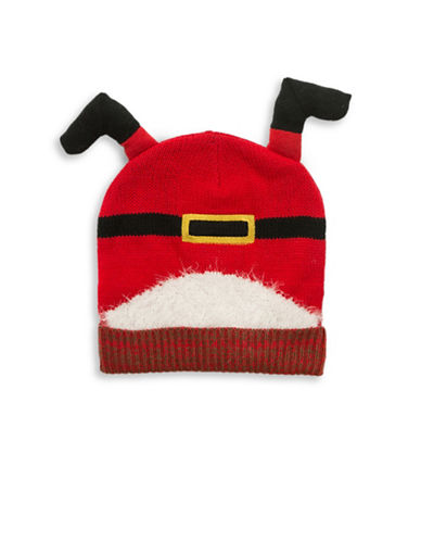 Collection 18 Santa Got Stuck Beanie-RED-One Size