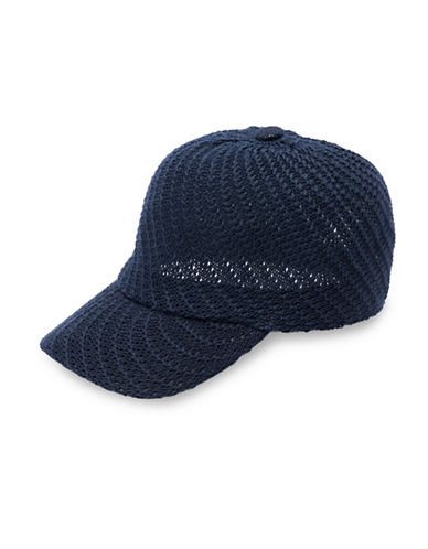 Collection 18 Packable Swirl Baseball Cap-BLUE-One Size