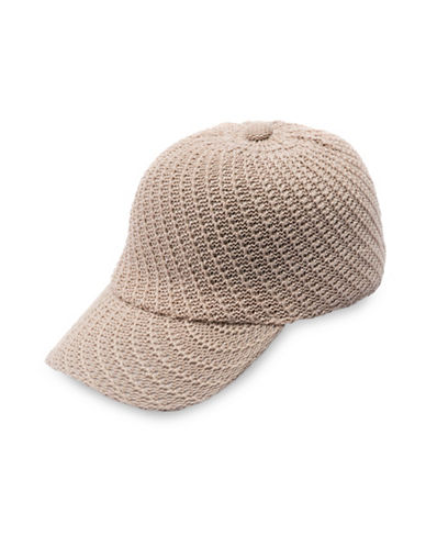 Collection 18 Packable Swirl Baseball Cap-TAUPE-One Size
