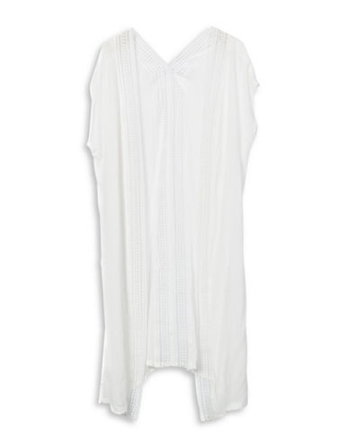 Bcbgeneration Breezy Way Duster Cardigan-WHITE-One Size