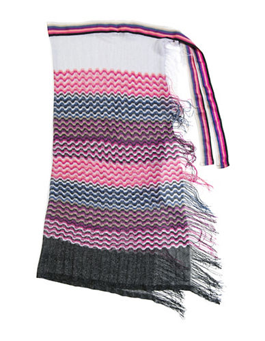 Collection 18 Striped Convertible Wrap-MULTI-One Size