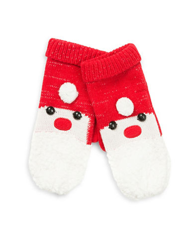 Collection 18 Santa Cheer Mittens-RED-One Size