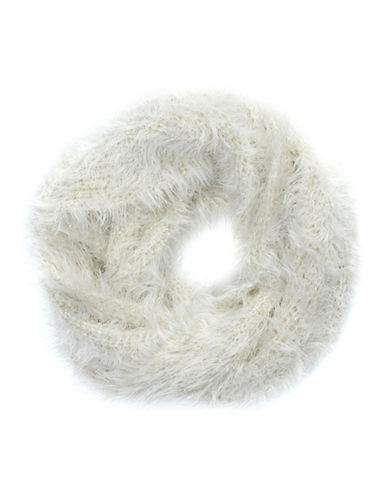 Collection 18 Monster Glam Loop Scarf-IVORY-One Size