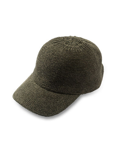 Collection 18 Chenille Color Expansion Baseball Cap-OLIVE-One Size