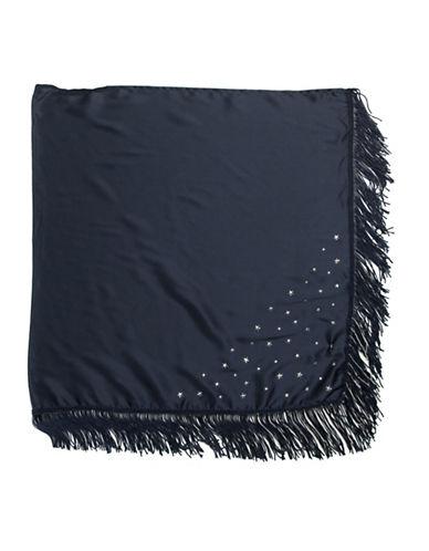 Bcbgeneration Star Embellished Bandana-NAVY-One Size