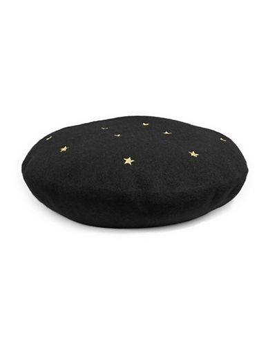Bcbgeneration Star Beret-BLACK-One Size