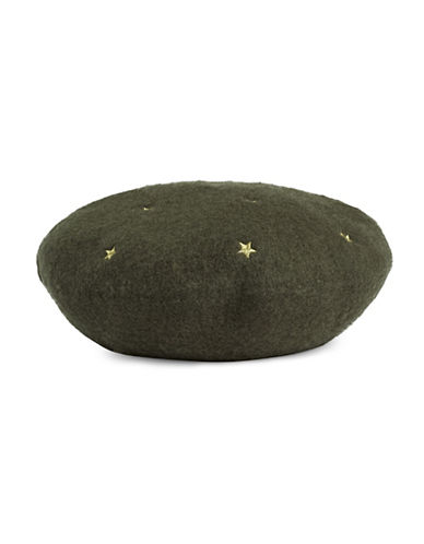 Bcbgeneration Star Beret-OLIVE-One Size