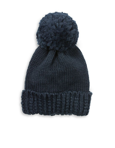 Collection 18 Nordic Jewel Cuff Wool-Blend Beanie-BLUE-One Size
