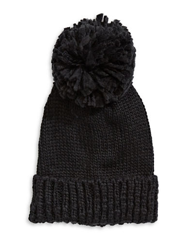 Collection 18 Nordic Jewel Cuff Wool-Blend Beanie-BLACK-One Size