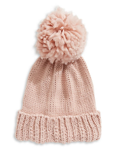 Collection 18 Nordic Jewel Cuff Wool-Blend Beanie-ROSE-One Size
