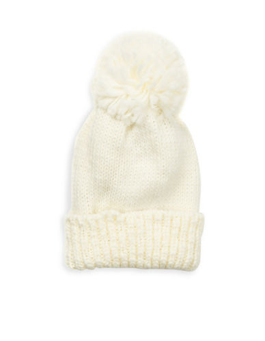 Collection 18 Nordic Jewel Cuff Wool-Blend Beanie-IVORY-One Size