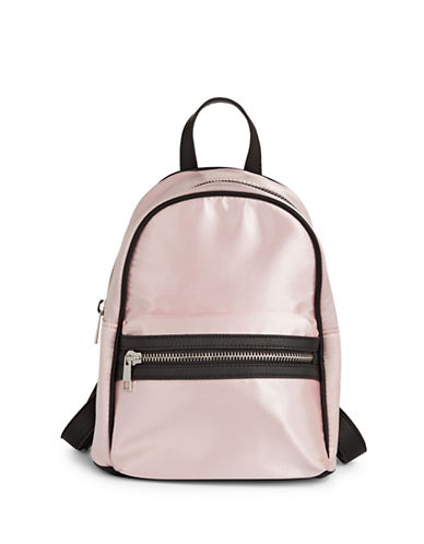Design Lab Lord & Taylor Classic Mini Backpack-BLUSH-One Size