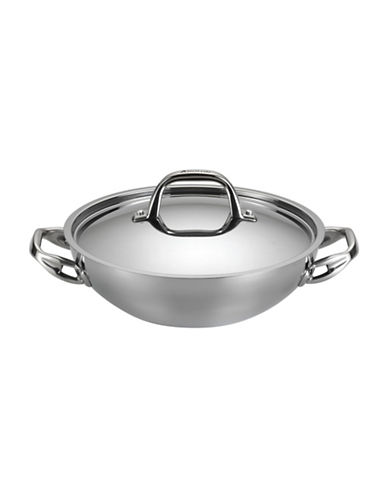 Anolon 3-Quart Stainless Steel Braiser-STAINLESS STEEL-One Size