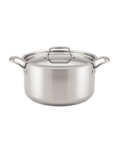 Breville Thermal Pro Tri-Ply Stainless Steel Stock Pot-STAINLESS STEEL-8