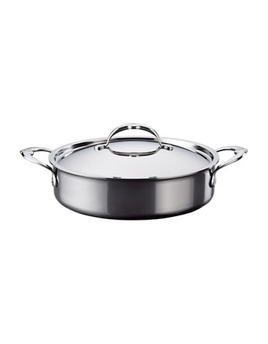 Hestan 3-Ply 3.5-Quart Stainless Steel Covered Sauteuse-BLACK-One Size