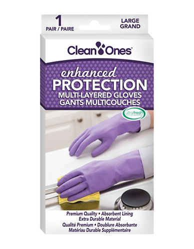 Clean Ones Clean Ones Enhanced Protection Gloves-PURPLE-Large