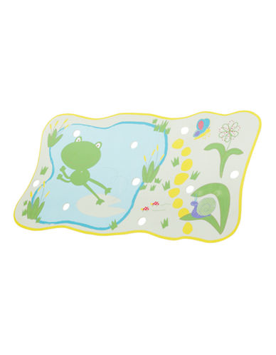 Safety 1st Froggy n Friends No Slip Bath Mat-GREEN-One Size