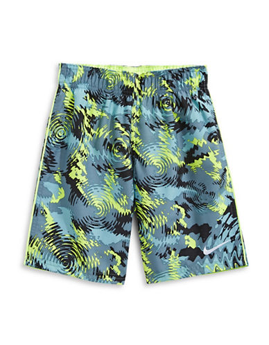 Nike Seven-Inch Volley Shorts-BLUE-4