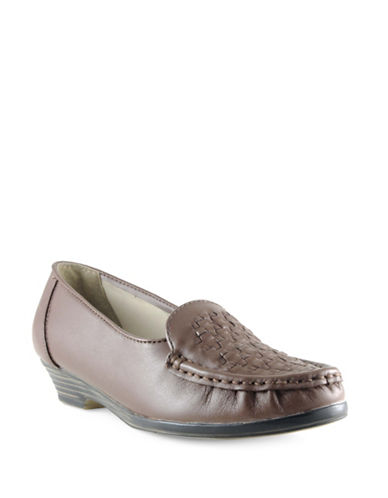 Softspots Constance Casual Shoes-BROWN-12