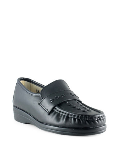 Softspots Venus Lite Loafers-BLACK-5W