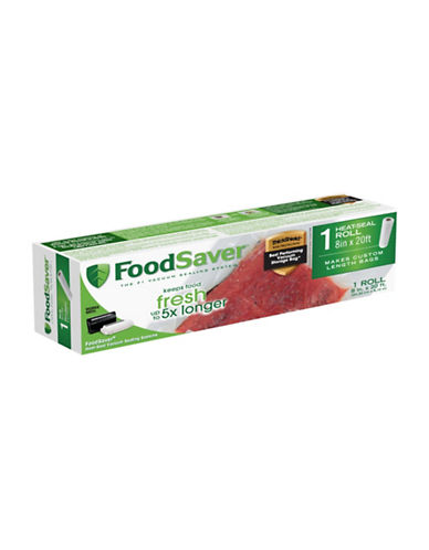 Foodsaver Heat-Seal Vacuum Sealer Roll-CLEAR-One Size