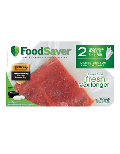 Foodsaver FoodSaver 8 x 20 2 Roll Pack-OPAQUE-Small