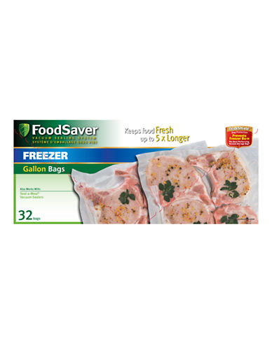 Foodsaver Gallon Size Pre-Cut Bags-NO COLOUR-One Size