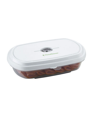 Foodsaver Two Pack  Deli Containers-CLEAR-One Size